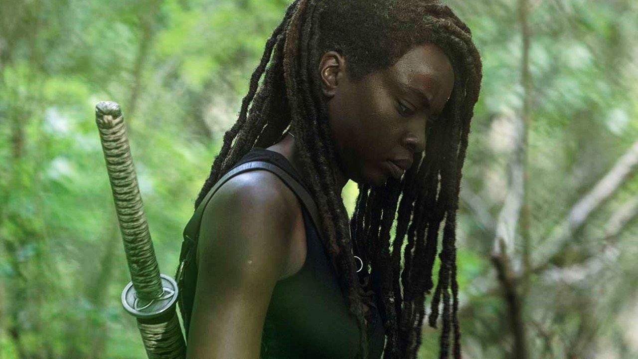 TWD Michonne Banner - Trailer: This Sunday's Episode of THE WALKING DEAD Will Be Michonne's Last