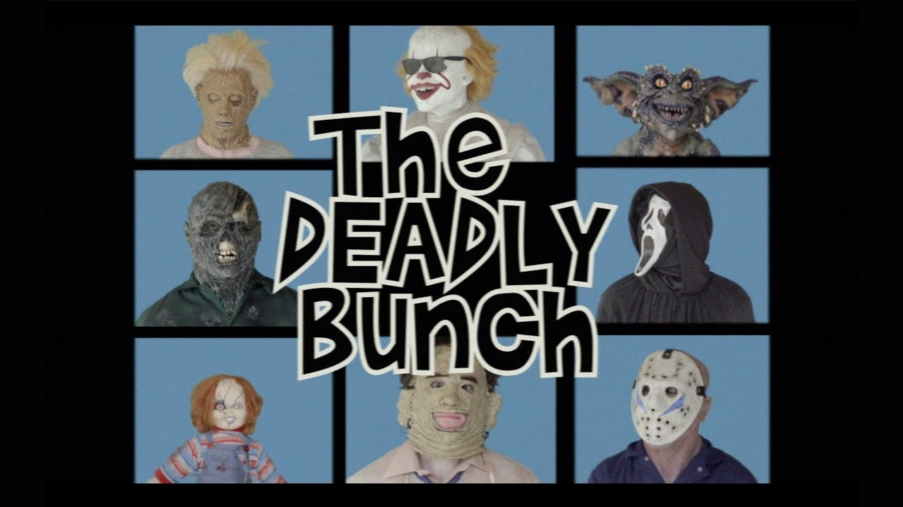 The Deadly Bunch Banner - Laugh in the Face of Fear: Check Out This Parody of THE BRADY BUNCH with Horror Icons