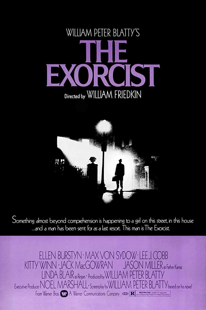 The Exorcist Poster - Angels, Demons and Everything Between: The Horror Legacy of Max von Sydow
