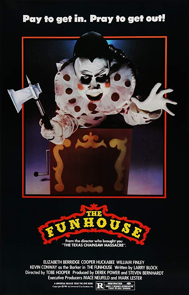 The Funhouse Poster - This Day in Horror History: Tobe Hooper's Underrated Masterpiece THE FUNHOUSE Was Released in 1981