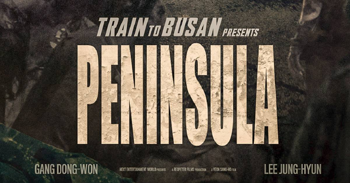 Train 2 Busna Poster edited - TRAIN TO BUSAN 2: PENINSULA Poster Teases 4 Years Later...