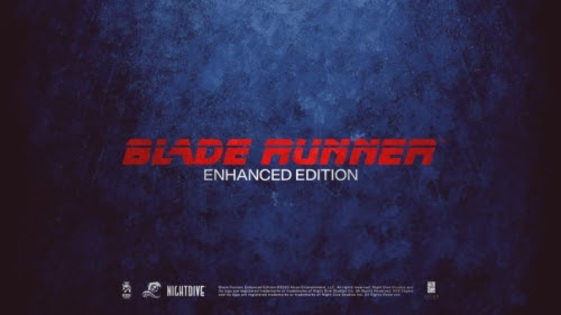 blade runner - REMASTER EXPERTS NIGHTDIVE STUDIOS TO RELEASE BLADE RUNNER: ENHANCED EDITION
