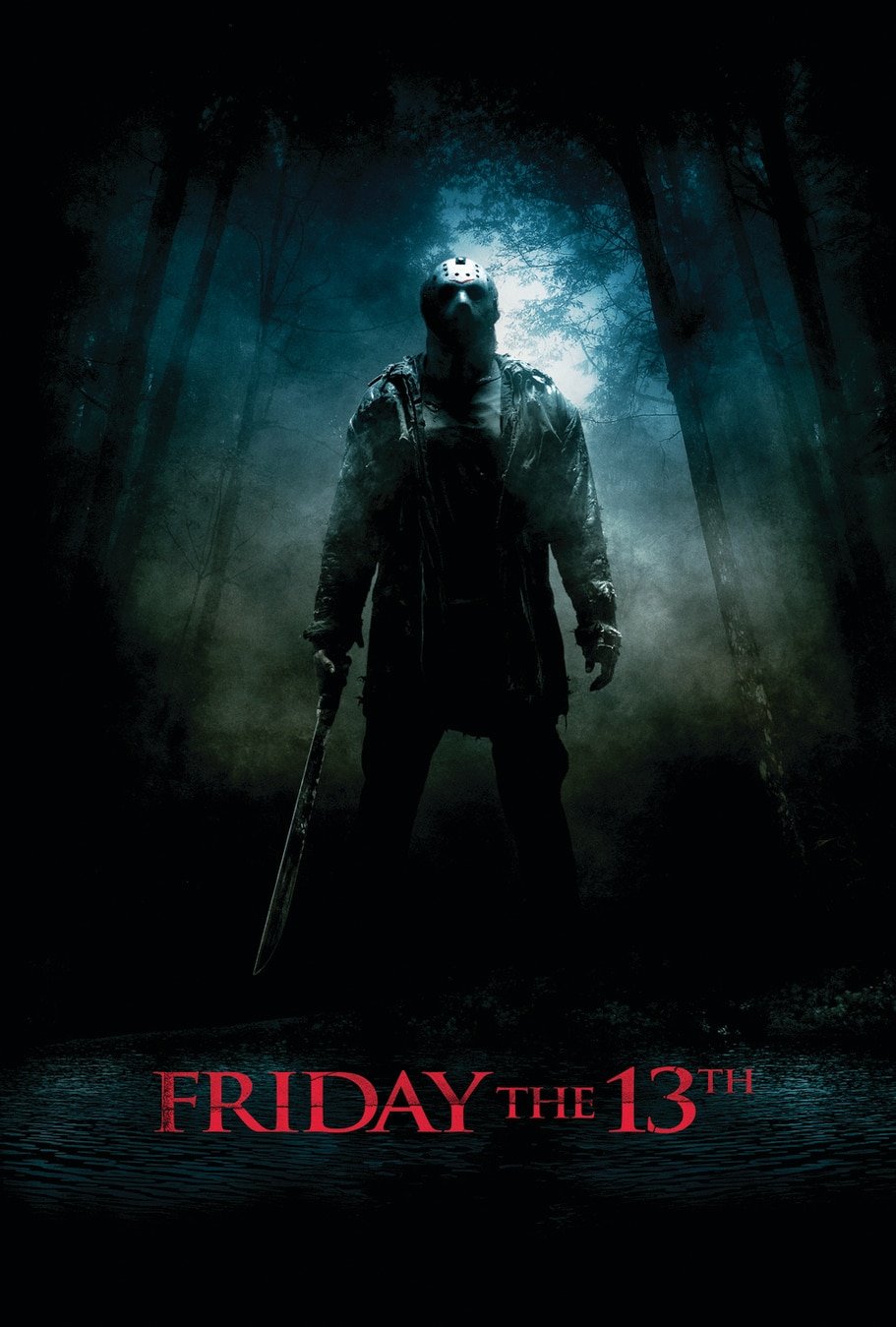 friday the 13th 2009 poster - Horror History: Marcus Nispel's FRIDAY THE 13TH Remake Was Released On This Day in 2009