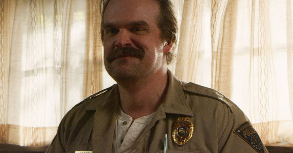 David Harbour - STRANGER THINGS' David Harbour Wants You To Text Him - For Real