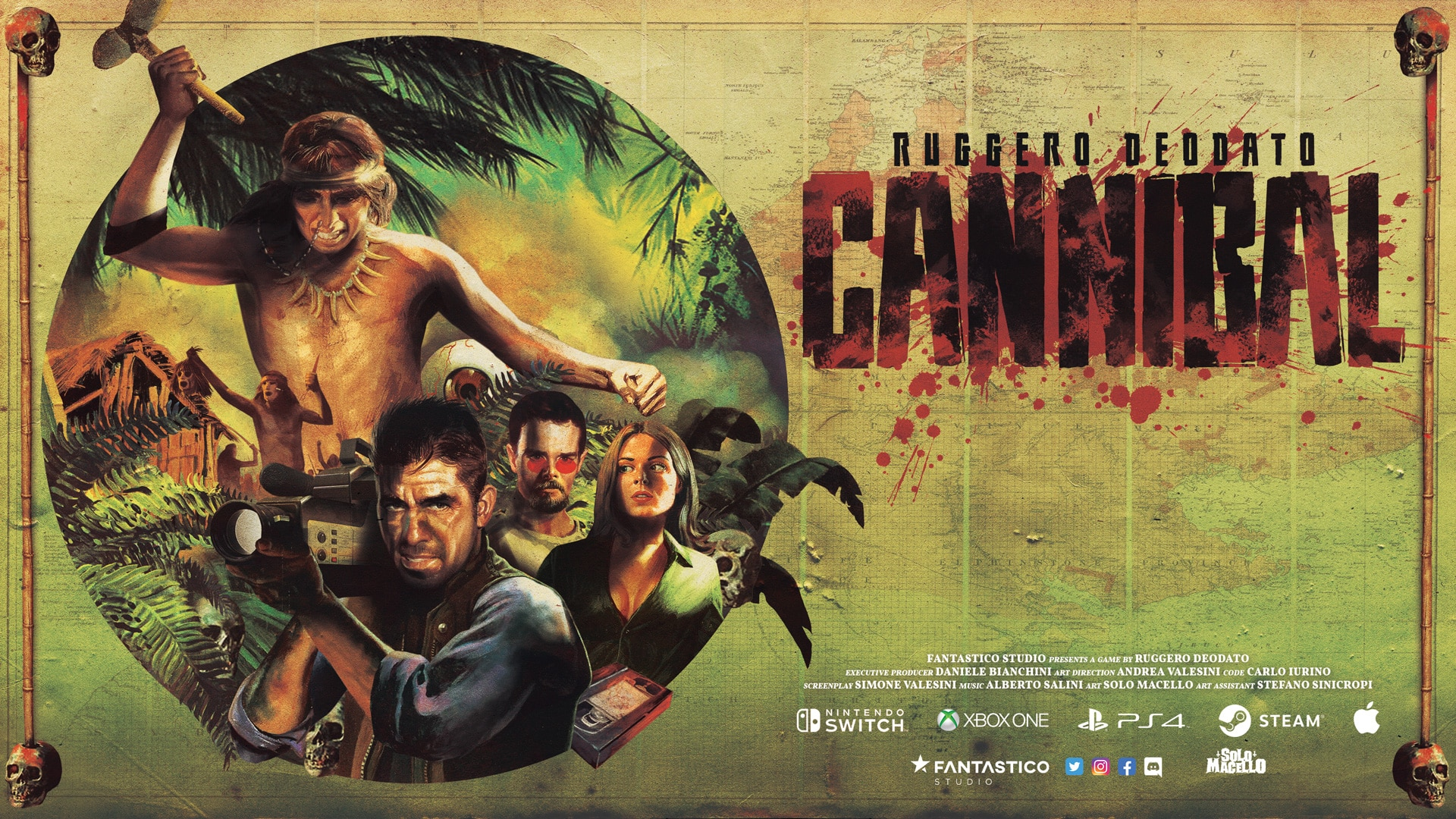 DeodatoCannibal Thumbnail - RUGGERO DEODATO RETURNS TO CANNIBAL HOLOCAUST WITH VIDEO GAME SEQUEL