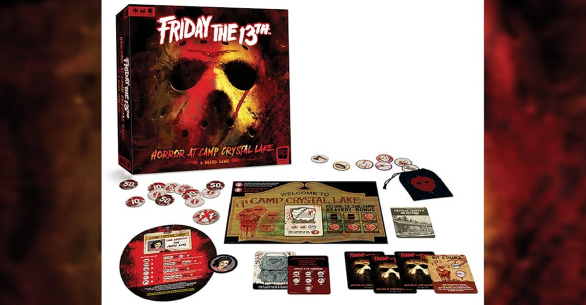 Friday the 13th Horror at Camp Crystal Lake HD - First Officially Licensed FRIDAY THE 13TH Board Game Coming This Summer!