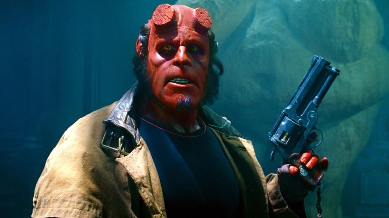 Hellboy 2004 Banner - This Day in Horror History: Guillermo del Toro's HELLBOY Was Released in 2004