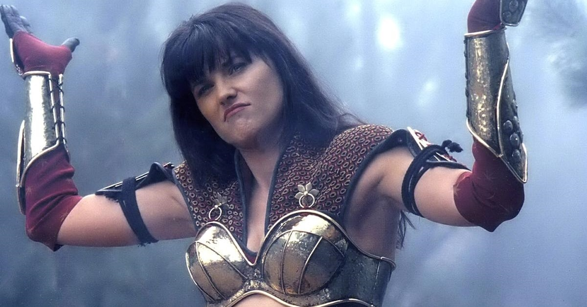 Lucy Lawless Xena 3 - Lucy Lawless Hosts XENA Marathon This Month on SyFy