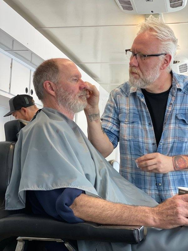 Mup James Kills 2019 - FX Artist Christopher Nelson Shares HALLOWEEN KILLS Behind-the-Scenes Pics & Talks Myers Mask Redesign