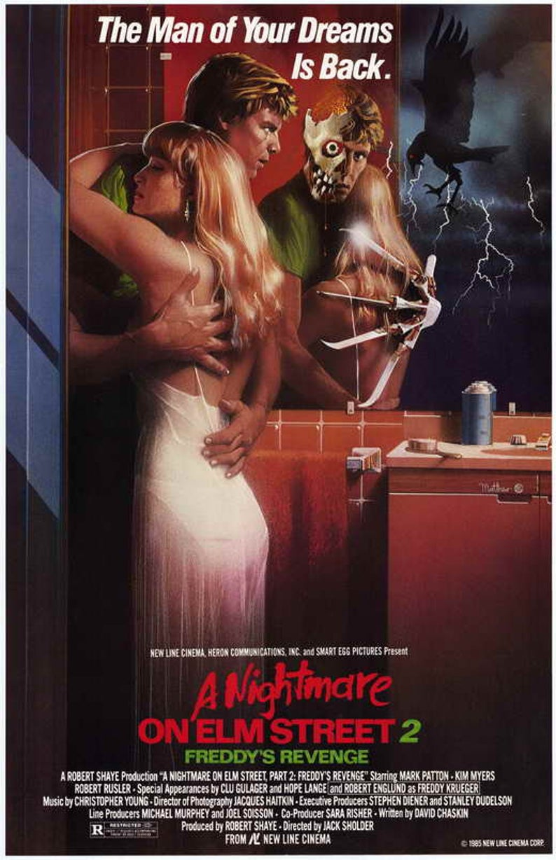 NIGHTMARE ON ELM STREET 2 poster - Now's the Time to Remake A NIGHTMARE ON ELM STREET 2, Says Robert Englund