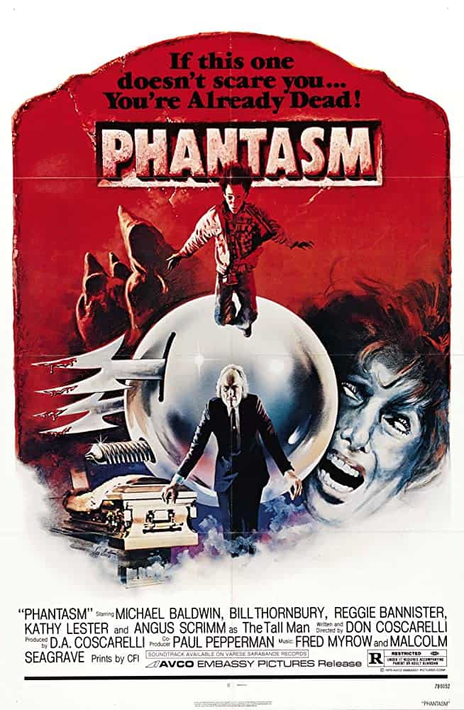 Phantasm Poster - Horror History: PHANTASM Unleashed Bizarre New Nightmares in 1979