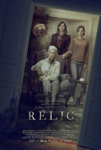 Relic Poster 203x300 - RELIC Review--Horrifying Story About Three Generations of Estrangement