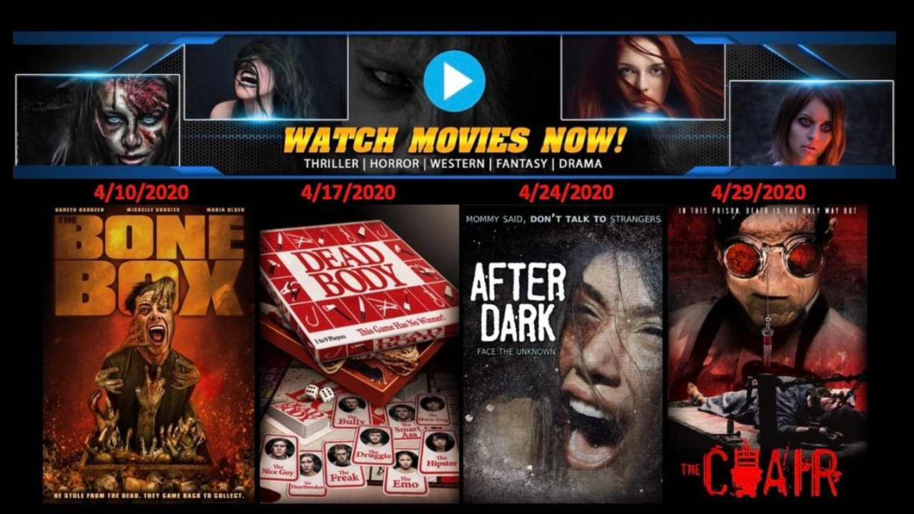 Terror Films Banner - Terror Films Teams with Watch Movies Now to Release 4 Free Horror Films This Month
