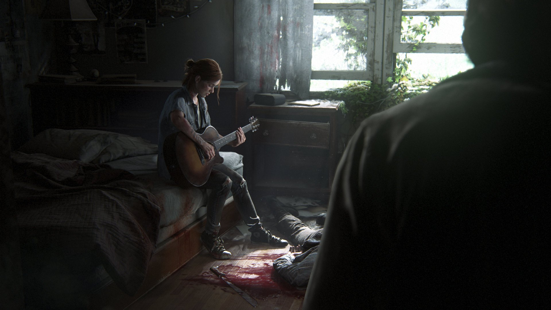 The Last of Us 2 - Leaked The Last of Us Part II Footage Features Guitar Simulator Minigame