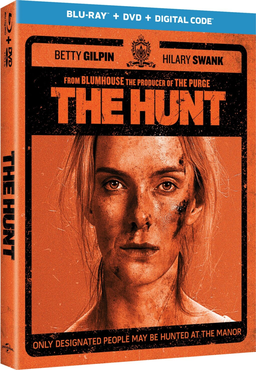 The.Hunt .2020 Blu ray.Cover  1024x1478 - Blumhouse's THE HUNT Hits Blu-ray 6/9