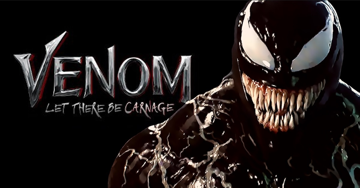 Tom Hardy Reveals VENOM: LET THERE BE CARNAGE Logo! - Dread Central