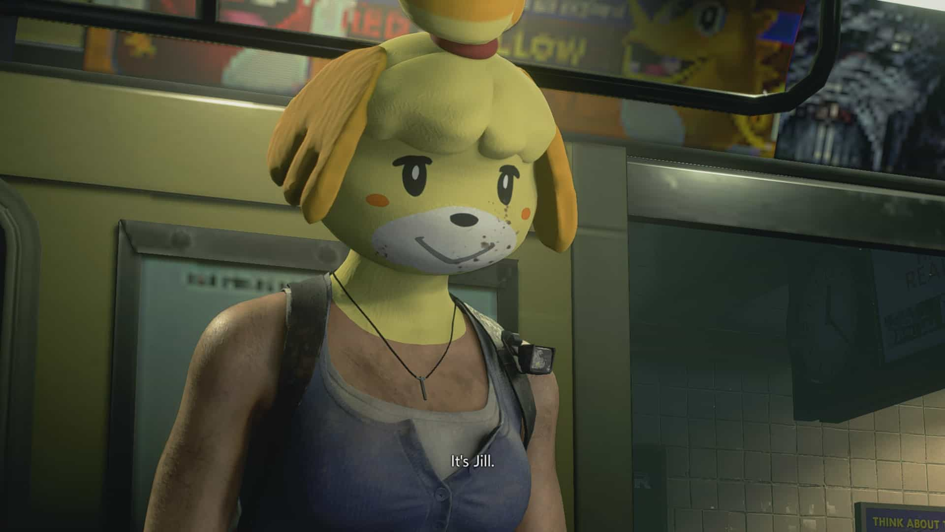 isabelle mask - You Can Now Rip and Tear (and Run Away) As Isabelle In Resident Evil 3