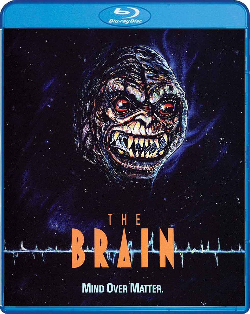 the brain blu 1024x1288 - THE BRAIN Blu-ray Review - Use Yours And Check Out This '80s Canadian Creature Feature