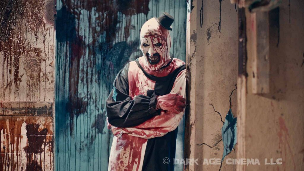 Art Terrifier 2 1024x576 - Art the Clown Terrifies in New TERRIFIER 2 Image