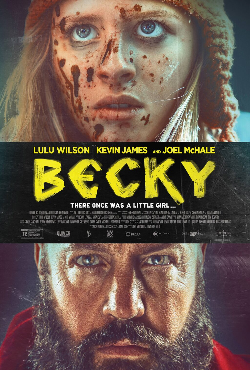Becky poster DC 1024x1517 - Kevin James Faces Off With Lulu Wilson in Bloody BECKY Poster