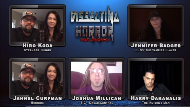 """Dissecting Horror Stunts Banner 750x422 - Dread Central & Impact24's """"Dissecting Horror"""" Stunt Performer Panel / Virtual Q&A Now Available to Stream"""