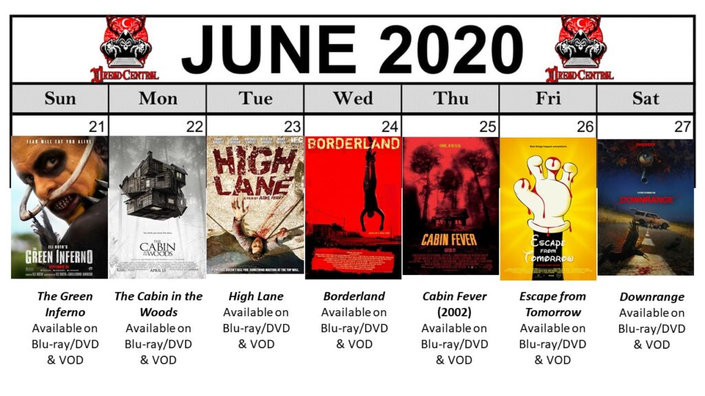 June 2020 Template Week 4 1024x576 - You'll Be Glad You Stayed Home! Our 366-Day #YearOfDread Horror Challenge Continues with Vacations—From Hell!