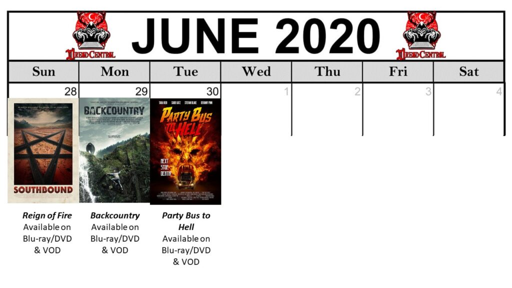 June 2020 Template Week 5 1024x576 - You'll Be Glad You Stayed Home! Our 366-Day #YearOfDread Horror Challenge Continues with Vacations—From Hell!