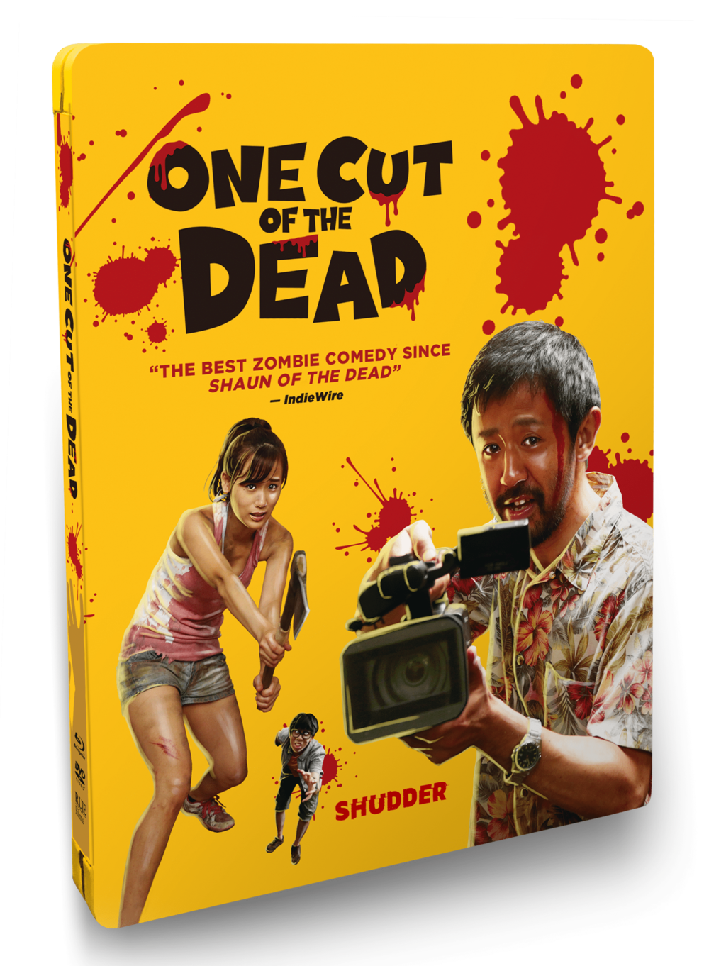 One Cut of the Dead steelbook 1024x1362 - ONE CUT OF THE DEAD Hits Blu-ray Next Month With Go-Pro Version