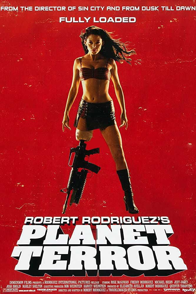Planet Terror Poster - PLANET 9 and Beyond: An Exclusive Chat with Rose McGowan