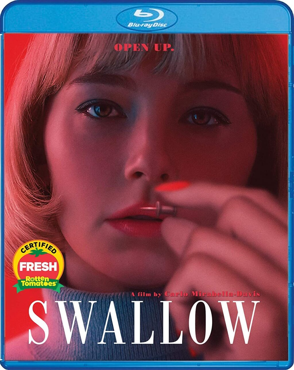 Swallow Blu ray 1024x1288 - Squirm-Inducing SWALLOW with Haley Bennett Hits Blu-ray This August