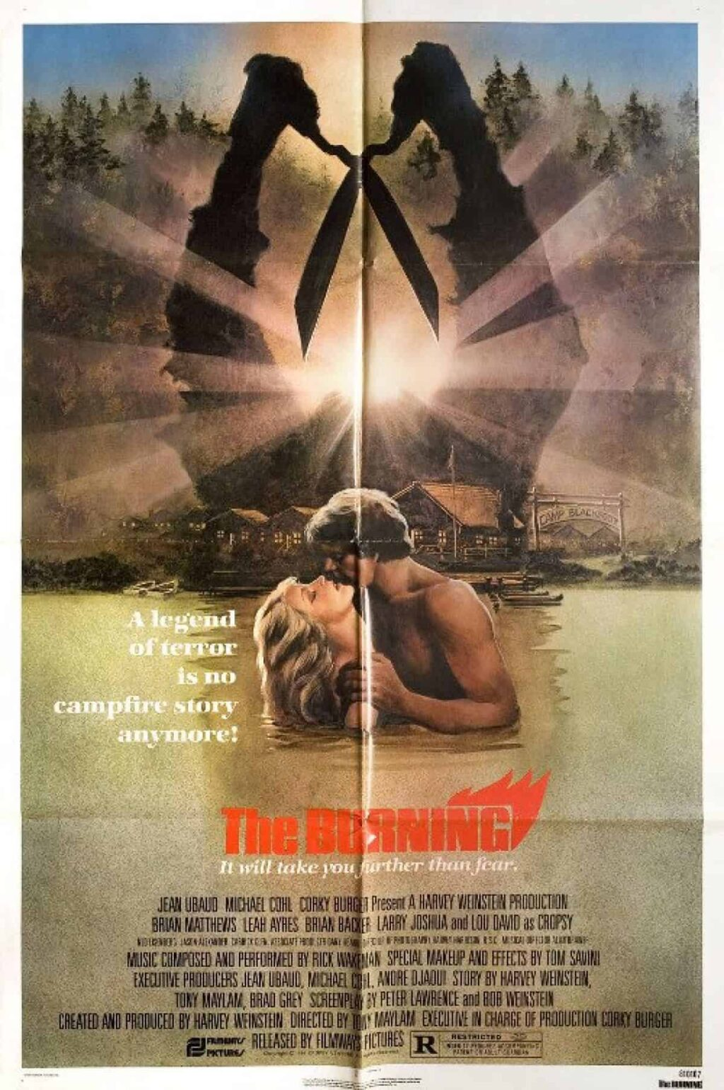 The Burning Poster 1024x1540 - This Day in Horror History: THE BURNING Was Unleashed in 1981