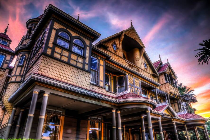 Winchester Mystery House - Winchester Mystery House Reopening TODAY with Self-Guided Garden Tour