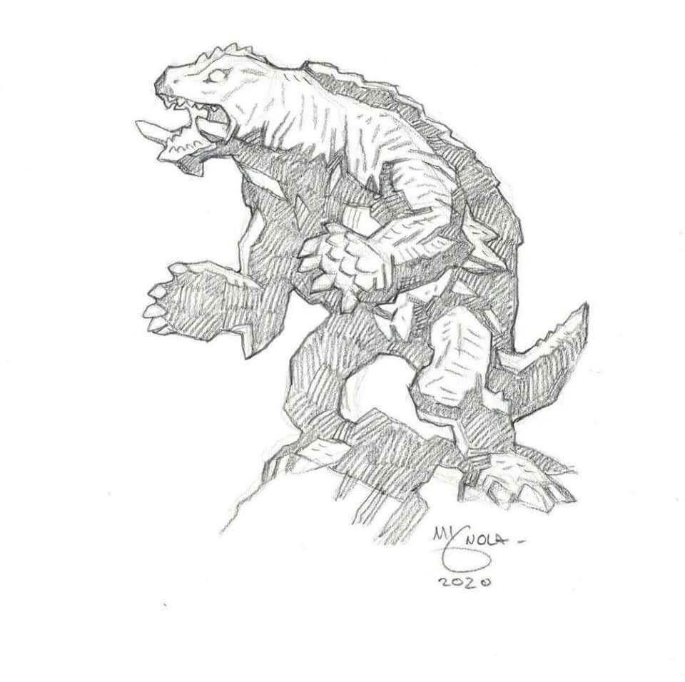 mike mignola gamera 1 - Mike Mignola Shares Incredible Quarantine Artwork Of All Your Favourite Characters