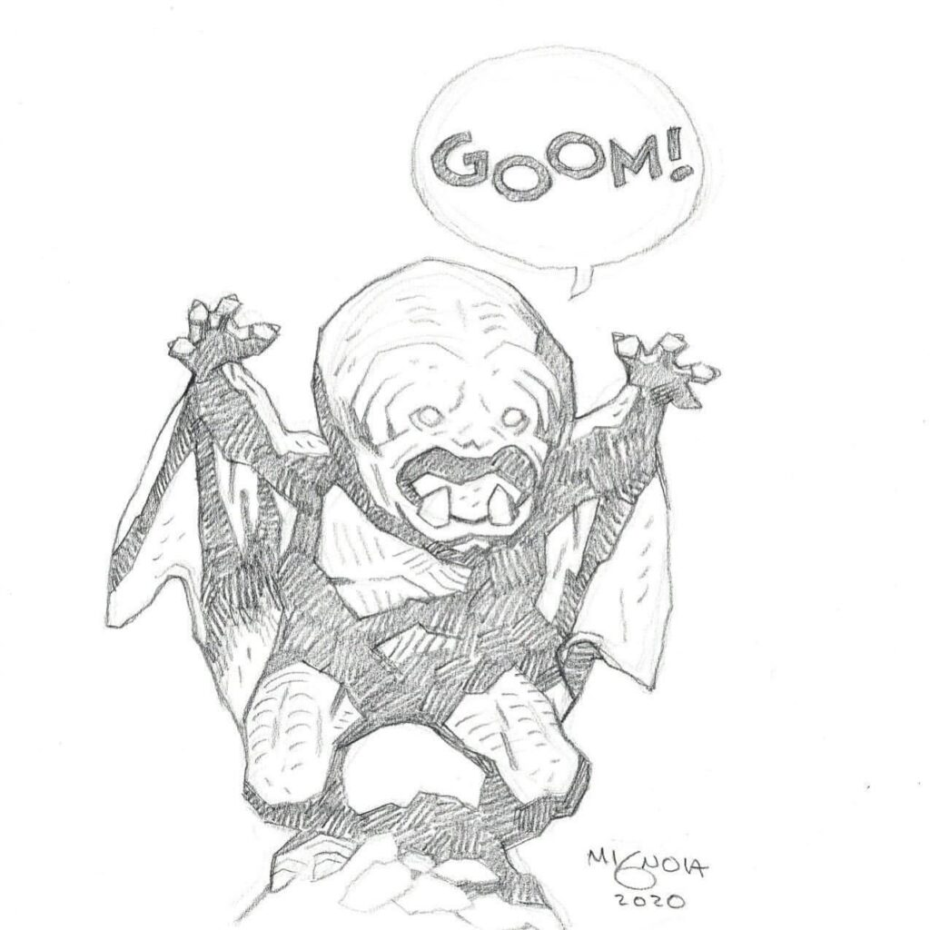 mike mignola goom 1 1024x1024 - Mike Mignola Shares Incredible Quarantine Artwork Of All Your Favourite Characters