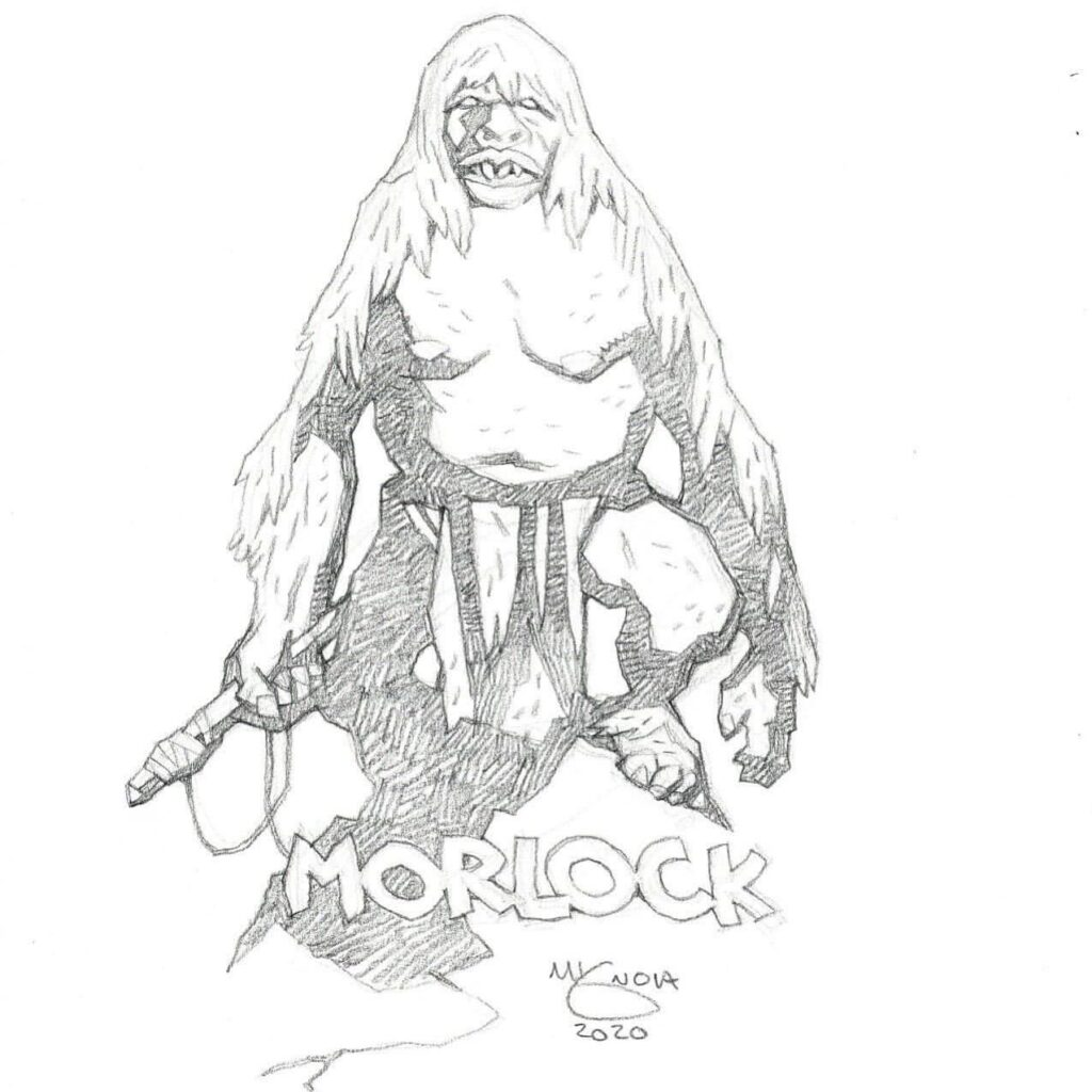 mike mignola morlock 1 1024x1024 - Mike Mignola Shares Incredible Quarantine Artwork Of All Your Favourite Characters