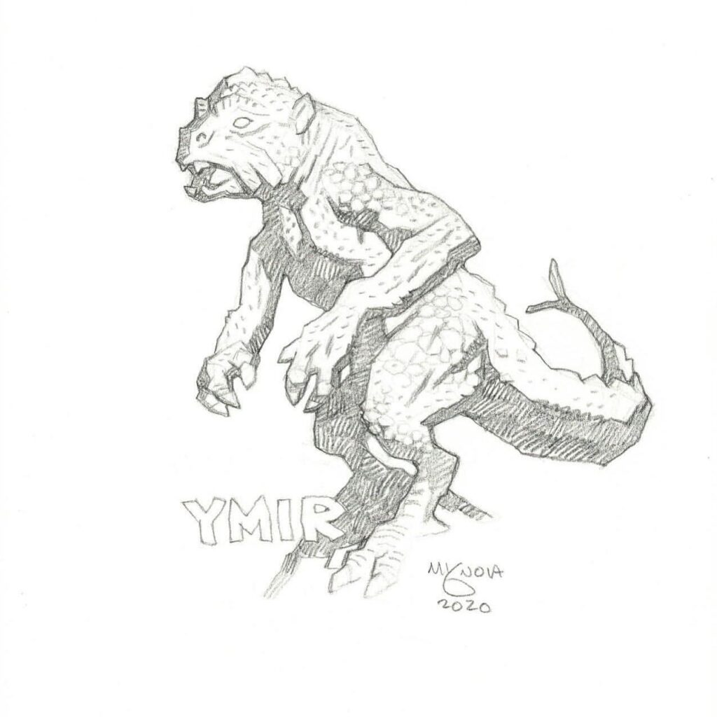 mike mignola ymir 1 1024x1024 - Mike Mignola Shares Incredible Quarantine Artwork Of All Your Favourite Characters