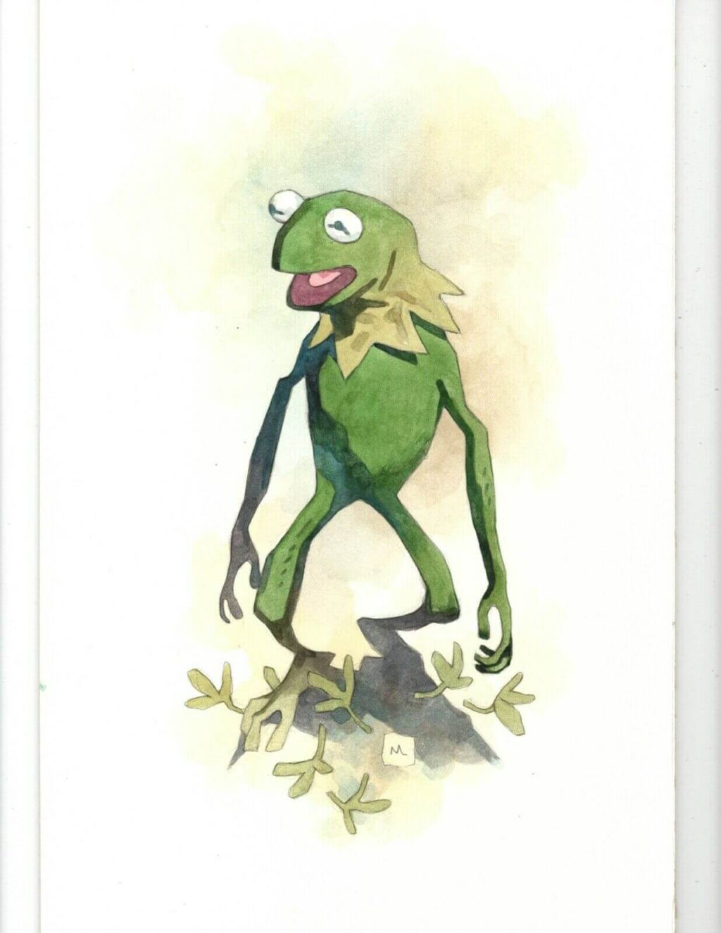 milke mignola kermit 1 1024x1326 - Mike Mignola Shares Incredible Quarantine Artwork Of All Your Favourite Characters