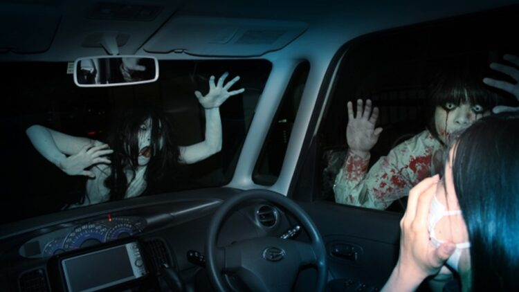 Drive in Haunt 750x422 - Drive-In Style Haunted Houses Are a Huge Hit in Japan