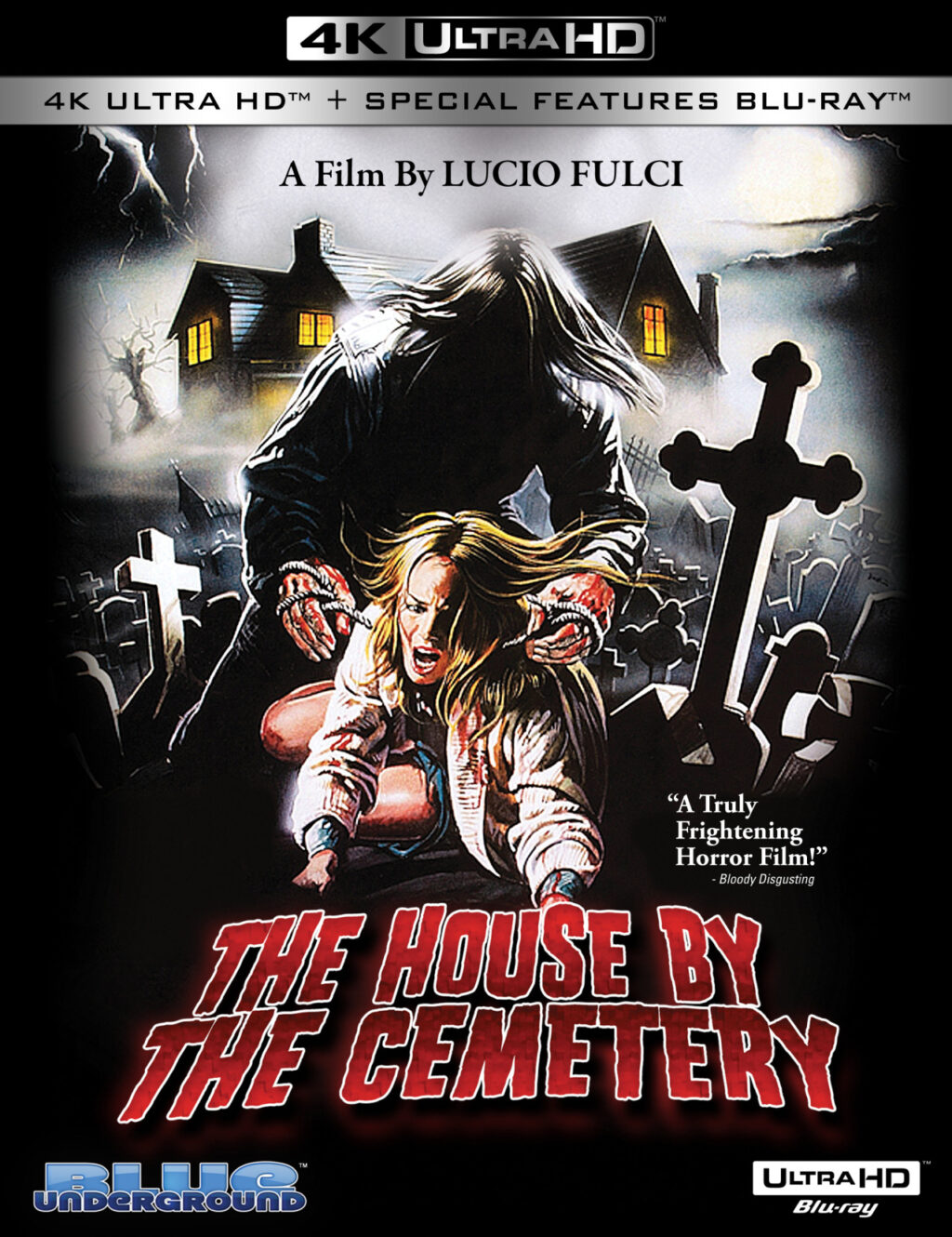 House by the Cematary 1024x1330 - Lucio Fulci's THE HOUSE BY THE CEMETERY Hits 4K Ultra HD 8/25