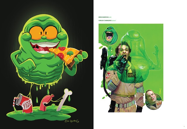 Insight Editions Ghostbusters Art Book 03 - GHOSTBUSTERS ARTBOOK Materializes via Insight Editions
