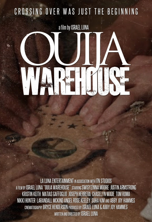 Ouija Warehouse Poster - Enter OUIJA WAREHOUSE: Teaser Poster for 5th Chapter of OUIJA EXPERIMENT Franchise