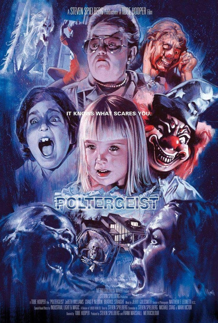 Poltergeist 1982 - This Day in Horror History: Tobe Hooper & Steven Spielberg's POLTERGEIST Opened in 1982
