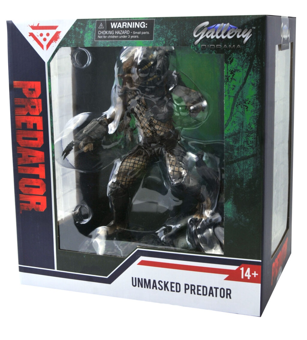 SDCC PredatorBoxFront 1024x1132 - PREDATOR Unmasked: Diamond Select Toys Reveal Another SDCC 2020 Exclusive