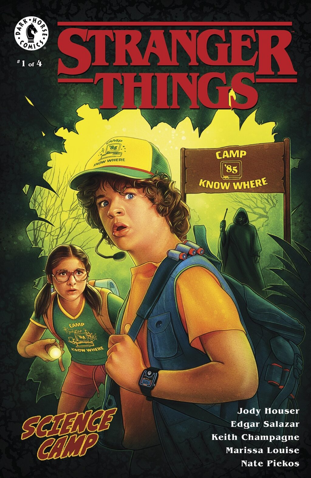Stranger Things Science Camp 3 1024x1574 - STRANGER THINGS: SCIENCE CAMP Comic Miniseries Kicks Off This September