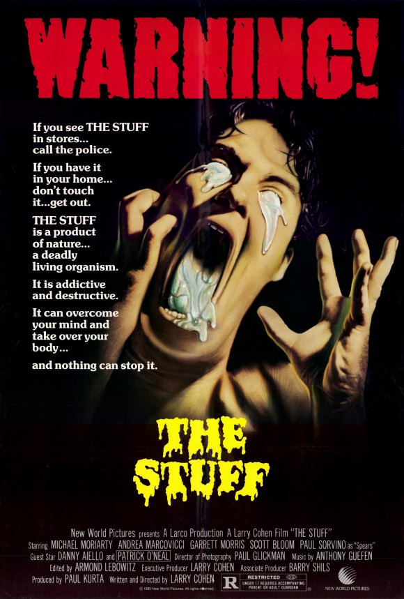 The STuff Poster - This Day in Horror History: THE STUFF Was Released in 1985