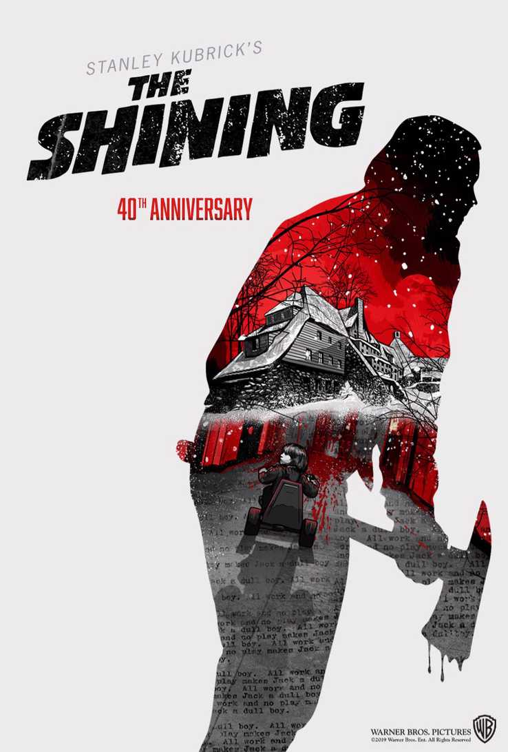 The Shining TCM Poster - THE SHINING, PSYCHO & More Return to Theaters This Year!