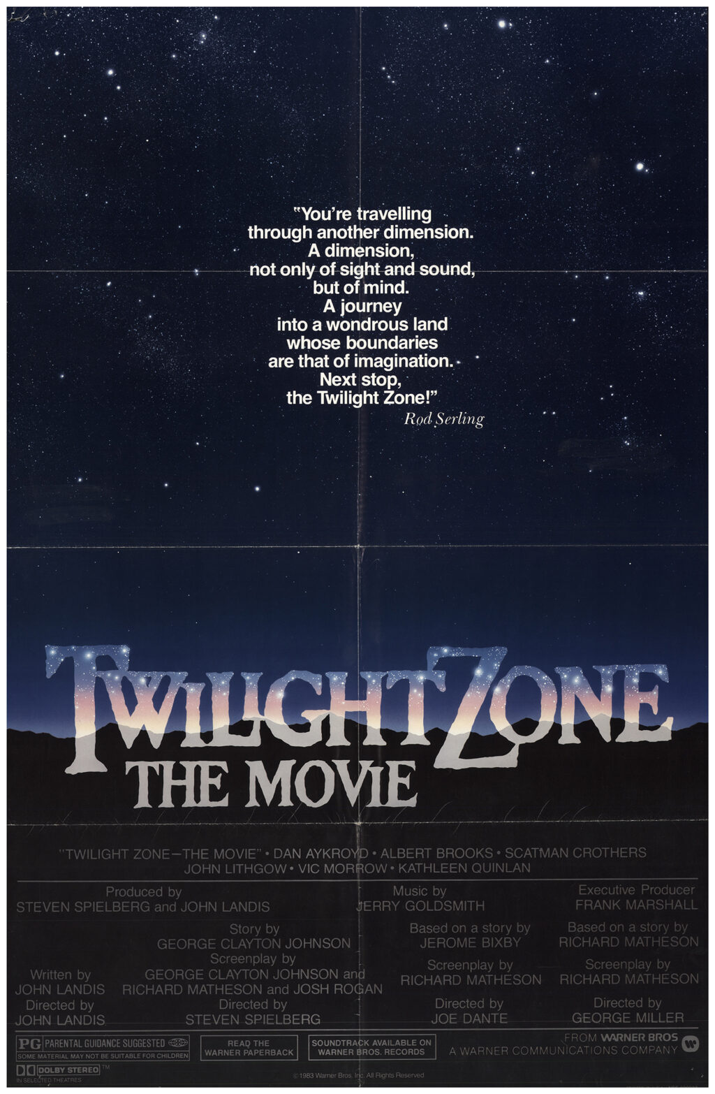 Twilight Zone the Movie 1983 1024x1566 - This Day in Horror History: TWILIGHT ZONE: THE MOVIE Was Released in 1983
