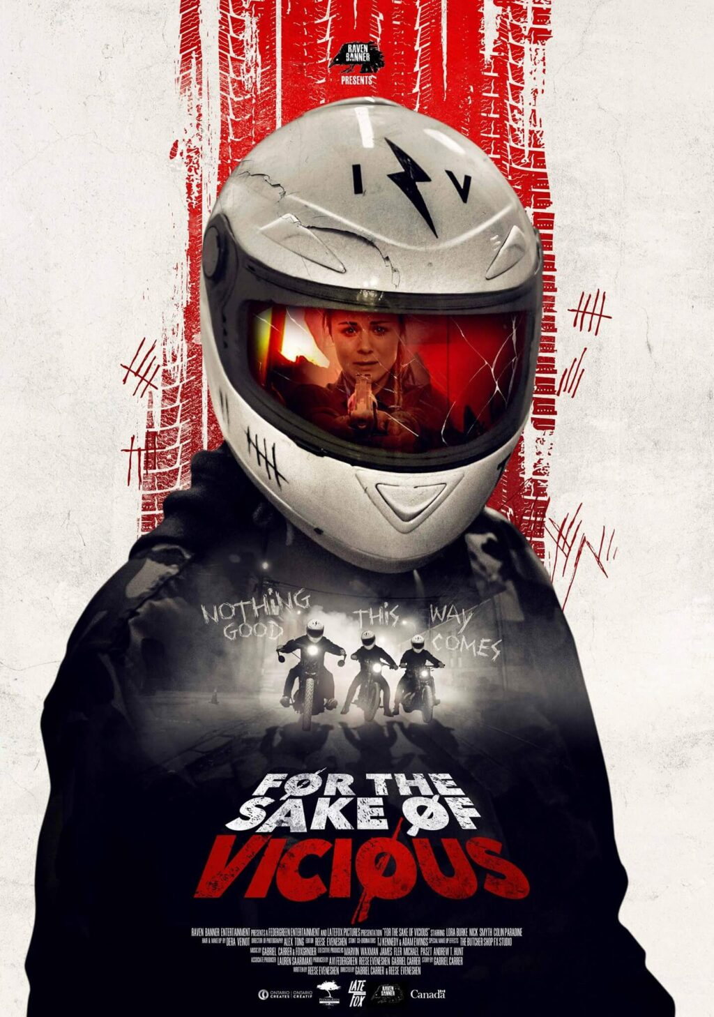 for the sake of vicious poster 1 1024x1458 - Brutal Trailer For Canadian Home Invasion Thriller FOR THE SAKE OF VICIOUS