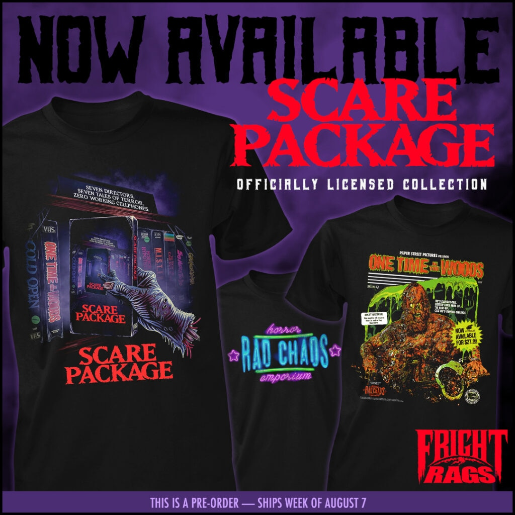 0720 ScarePackage FrightRags 1024x1024 - Get Nostalgic with SCARE PACKAGE, UNIVERSAL MONSTERS & PHANTASM II Apparel from Fright-Rags
