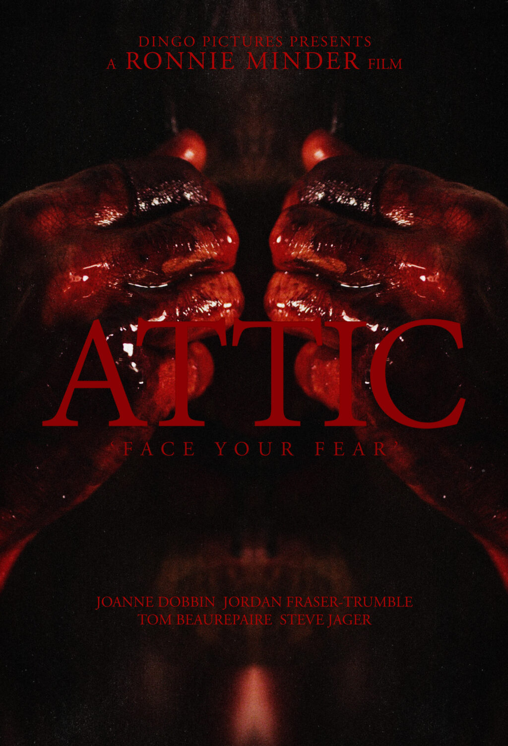 Attic Poster 1024x1503 - Nightmarish Directorial Debut ATTIC by Award-Winning Composer Ronnie Minder in the Works